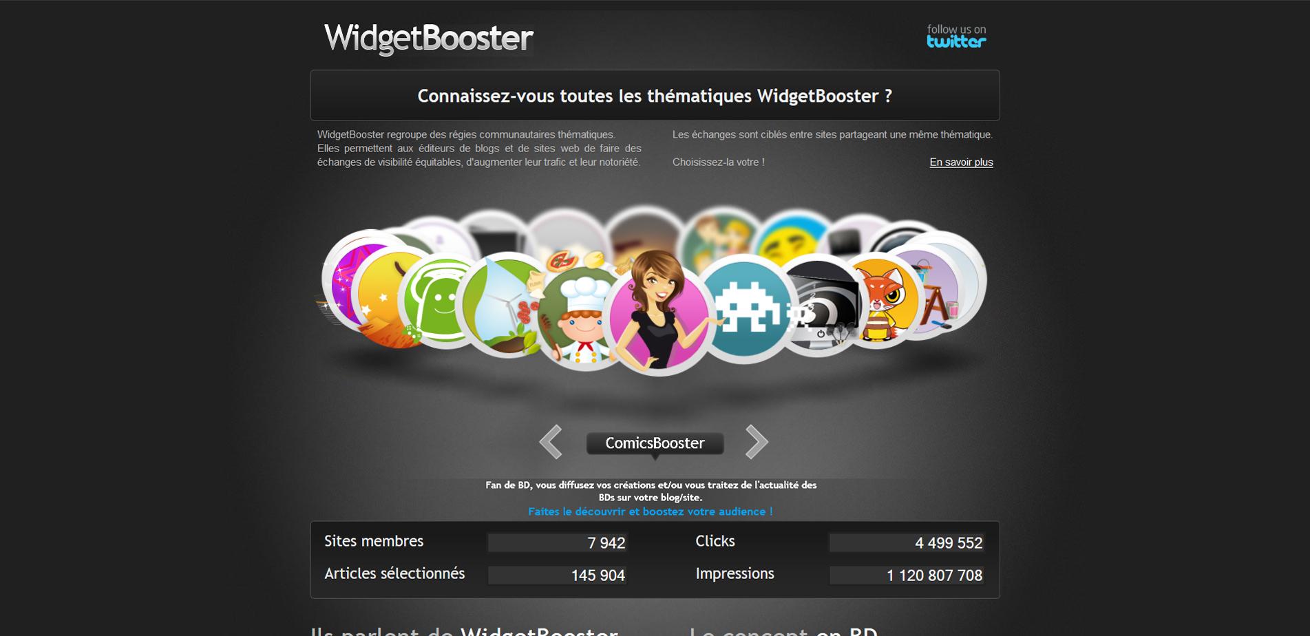 widget booster