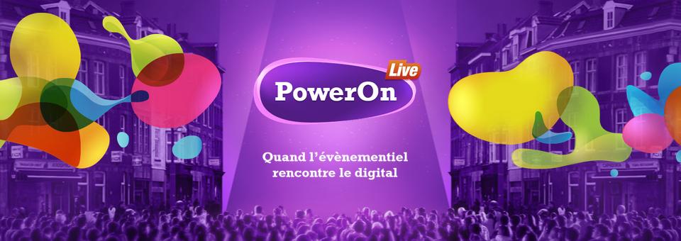 Nouveau : PowerOn live
